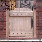 old world wooden gate