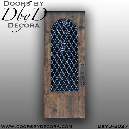 old world door