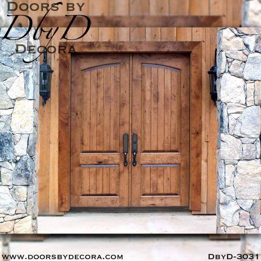 old world barn style doors