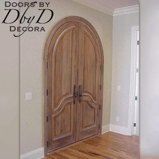 """An intrior shot of our traditional """"Lion"""" doors."""