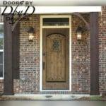 Our standard speakeasy door with a rectangular top.