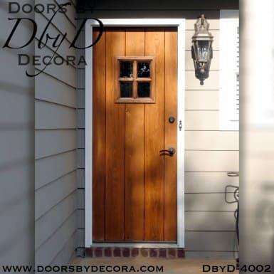 craftsman plank door