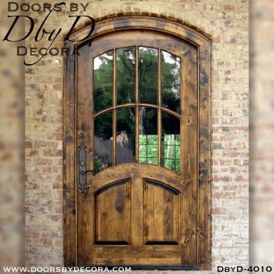 craftsman segment top door