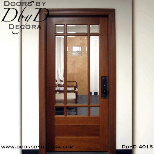 craftsman nine lite door