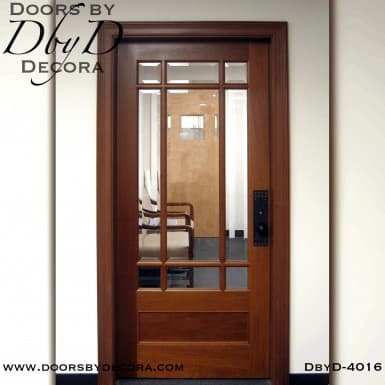 craftsman nine lite door