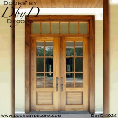 craftsman true divided lite front door
