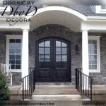 craftsman 8-lite tdl double doors