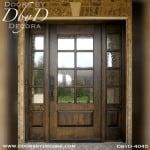 craftsman door and side lites