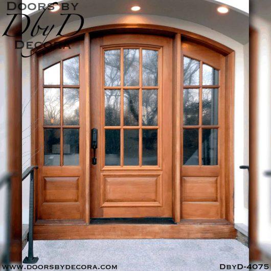 craftsman door and large side lites