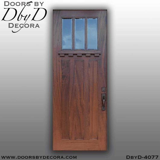craftsman three lite door
