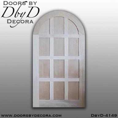 craftsman radius top door