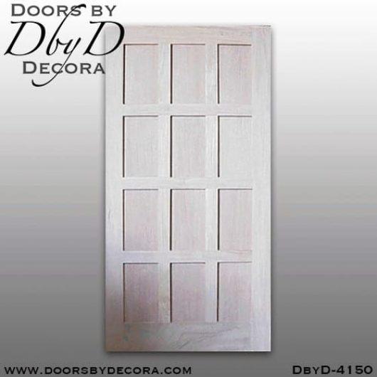 craftsman rectangular door