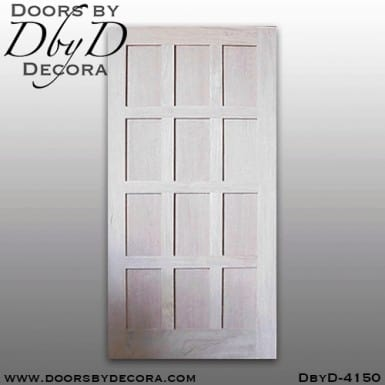craftsman rectangular door