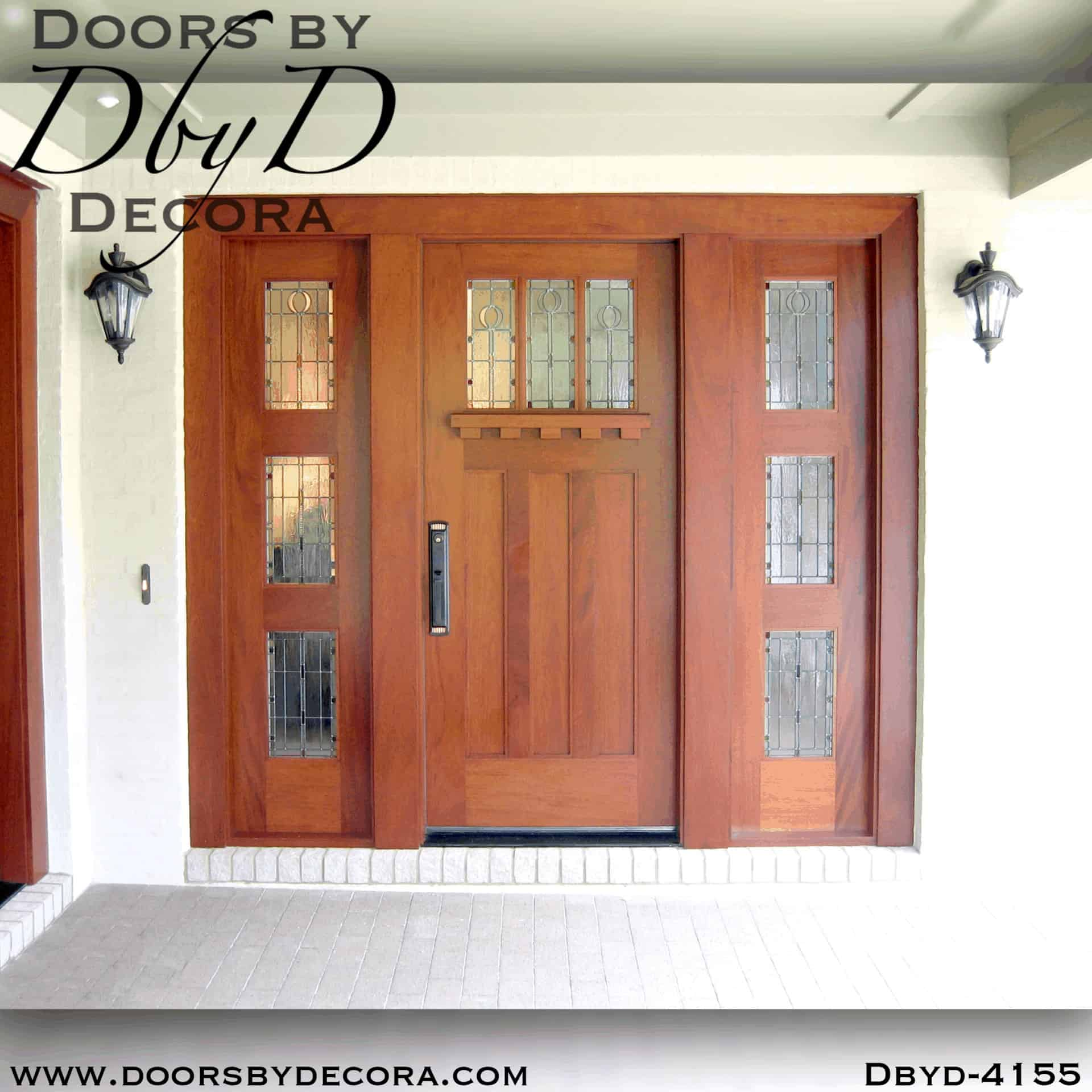 Custom Craftsman Arts And Crafts Door Wood Entry Doors By Decora