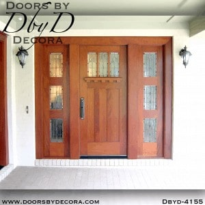 craftsman arts and crafts door