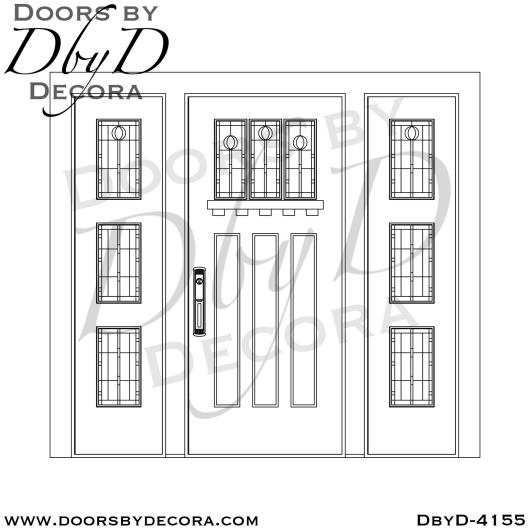 craftsman arts and crafts door