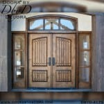 craftsman custom double doors
