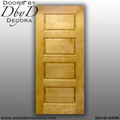 craftsman custom four panel door