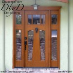 craftsman custom door and side lites