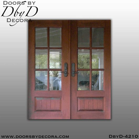 craftsman double tdl doors