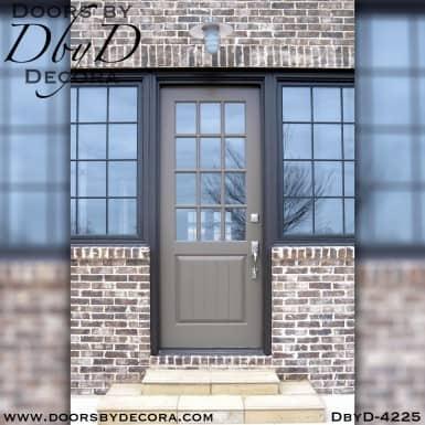 craftsman twelve lite custom door