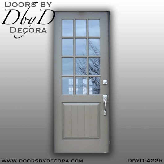 craftsman twelve lite custom door
