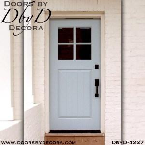craftsman custom four lite door