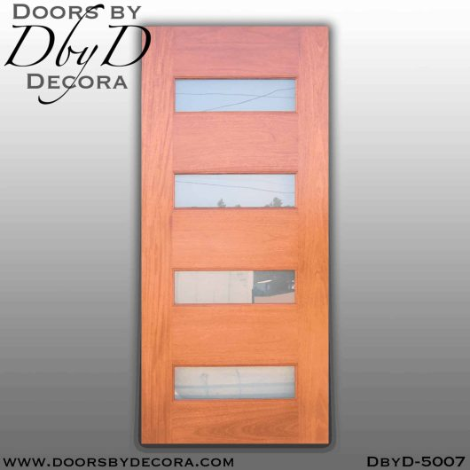 contemporary four lite door