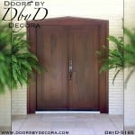 contemporary solid wood doors