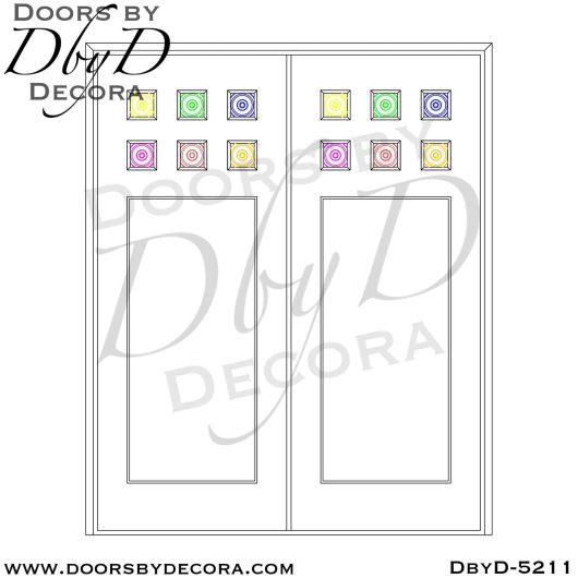 contemporary shaker style doors