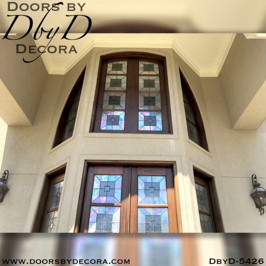 contemporary front entry doors