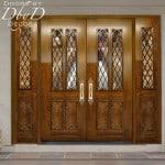 custom panel church doors