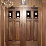 Another example of our standard cross door.