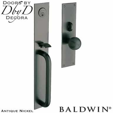 Baldwin antique nickel san diego handleset.
