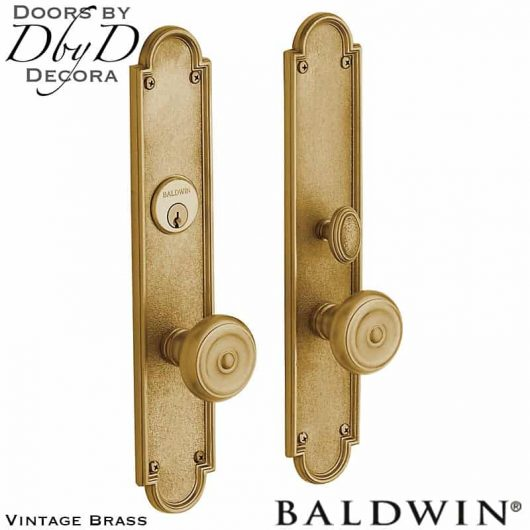 Baldwin vintage brass san francisco entrance trim.
