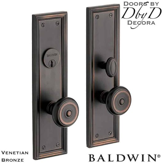 Baldwin venetian bronze nashville entrance trim.