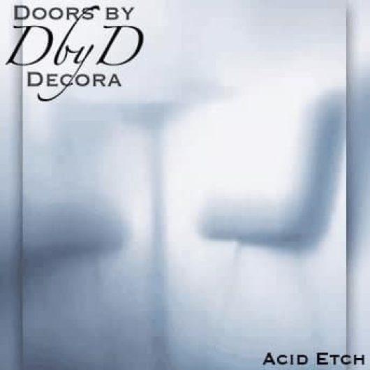 Acid etch glass by AIG.