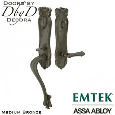 Emtek art nouveau handleset.