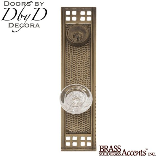 Brass Accents arts & crafts entry set.