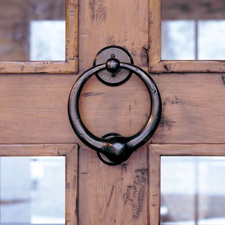 Rocky Mountain door knocker.