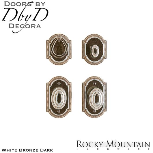 Rocky Mountain white bronze dark e005/e005 ellis entry set.