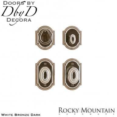 Rocky Mountain white bronze dark e005/e005 ellis entry set.
