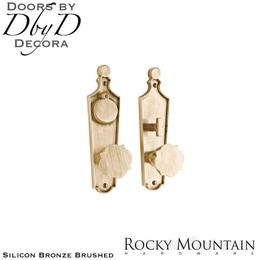 Rocky Mountain silicon bronze brushed e10018/e10016 paris entry set.
