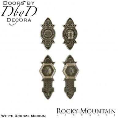 Rocky Mountain white bronze medium e10800/e10800 briggs entry set.