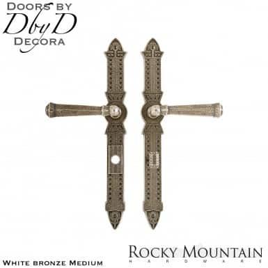 Rocky Mountain white bronze medium e10870/e10872 briggs multi-point entry set.
