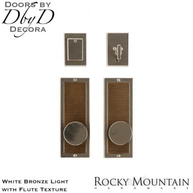 Rocky Mountain white bronze light e110/e110 flute entry set.