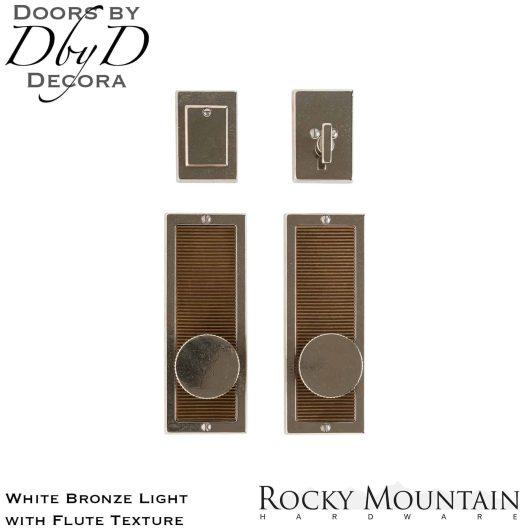 Rocky Mountain white bronze light e110/e110 flute entry set.