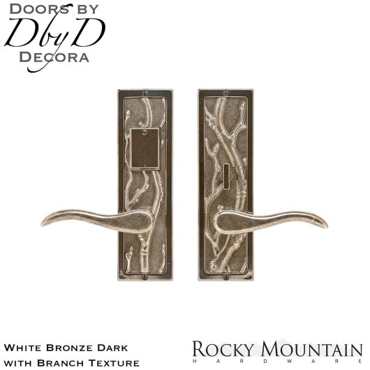 Rocky Mountain white bronze dark e118/e116 branch entry set.