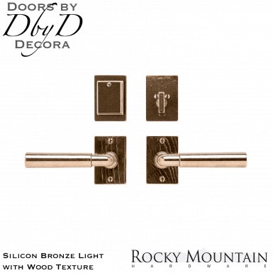 Rocky Mountain silicon bronze light e153/e153 edge entry set.