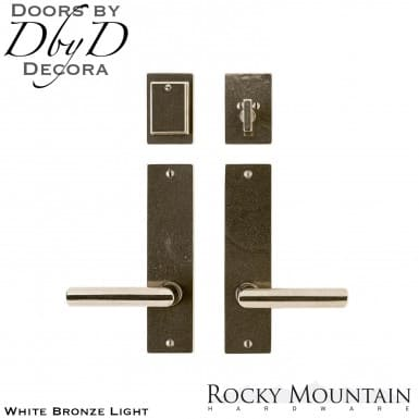 Rocky Mountain white bronze light e160/e160 edge entry set.